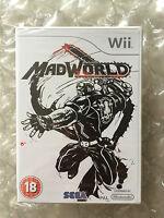 BRAND NEW FACTORY SEALED MADWORLD FOR NINTENDO WII / WII U MAD WORLD