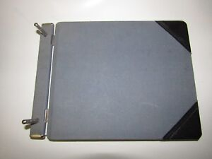 Vintage Sectional Post Binder By National Essex - Made in USA Balance Sheet