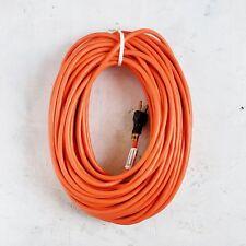 100' 16 Gauge Light Duty Orange Indoor/Outdoor Extension Cord - MADE IN USA
