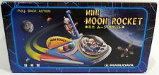 Robots: mini lune fusée tinplate / modèle en plastique faite par masudaya