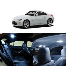 7 x White LED Interior Light Package For 2003 - 2009 Nissan 350Z + PRY TOOL