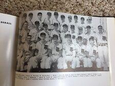 University of Cincinnati Sandy Koufax College Yearbook