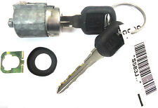 NEW GM OEM Single Chrome Door Lock Cylinder W/2 OEM LOGO KEYS - 702674 + 596222
