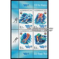 Aserbaidschan Azerbaijan 2014 - Olympische Wintersp. Sotschi, Viererbl.links **