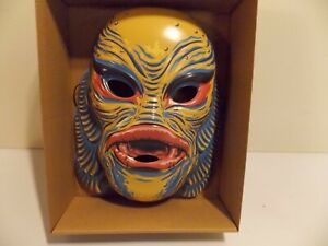 Retro Monster Mask Creature from the Black Lagoon  Yellow