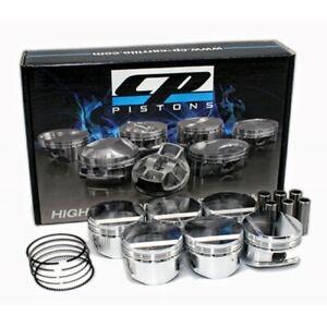CP Forged Piston Set for Nissan Skyline R32 R33 R34 GTR RB26DETT (86.5mm, 8.5:1)