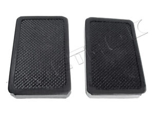 Pierce-Arrow Clutch and Brake Pedal Pads Fits: 1920-1938 Model 38 and more