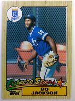 1987 87 Topps Future Stars Bo Jackson Rookie RC #170, Kansas City Royals