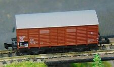 "MINITRIX    DB covered goods wagon    ""BOXED""  N Gauge (M409)"