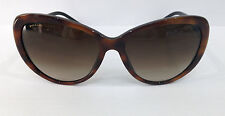 BVLGARI 8131-B TORTOISE 879/13 CAT EYE PLASTIC SUNGLASSES FRAME 57-16-130
