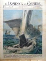 La Domenica del Corriere 22 Ottobre 1944 WW2 Guerra Pacifico Molucche Fame Roma