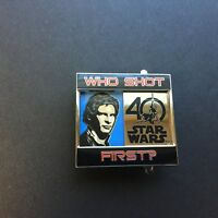 Star Wars 40th Anniversary - Who Shot First? LE 4000 Disney Pin 121594