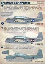 SCALA di stampa 1/72 Grumman TBF AVENGER # 72140