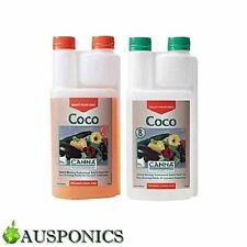 CANNA COCO A&B (2x 1 LITRE) Growth & Bloom Nutrients For Hydroponics