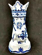 Royal Copenhagen Aluminia Tranquebar Three Kings Balthazar Candlestick 1948 Rare