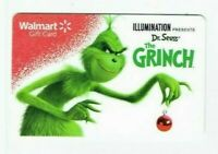 Walmart Gift Card - The Grinch - Dr. Seuss - Christmas - No Value - I Combine