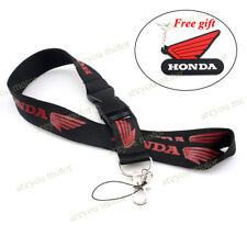 Lanyard Straps Neck Keychain Phone Card Holder For Honda CBR125R 250R 300R 600RR