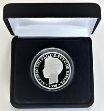 1895 PGV Puerto Rico 1 Peso 1 Troy Oz.  .999 Silver Commemorative Proof Coin