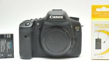 Canon EOS 7D 18 MP CMOS Digital SLR Camera Body SN570505389