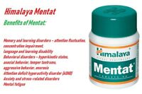 60 Tablet Himalaya Herbal Mentat Natural Herbal Care