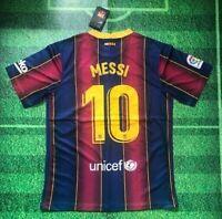 Messi #10 Barcelona Nike Home Jersey 20/21