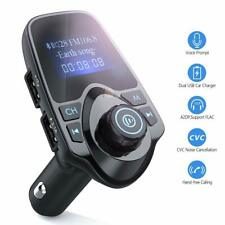 Bluetooth Mp3 Player Car Audio Receiver Wireless Fm Transmitter Usb Charger
