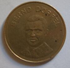 Bernd Dörfel FußBall MÜNze Football Soccer Player Coin Traum-Elf 1969 Shell oil