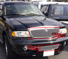 For 03-06 Lincoln Navigator Stainless Mesh Grille Combo