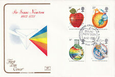 (39805) GB Cotswold FDC Isaac Newton Woolsthorpe 1987