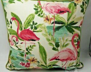 Pillow Perfect Floridian Flamingo Throw Pillow