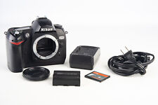 Nikon D70 6.1MP Digital SLR Camera Body with 4GB CF Card Battery & Charger V16