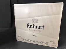 6x Ruinart Champagne Brut Champagner Flasche 0,75l 12% Vol Kiste