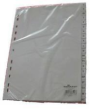 proOFFICE Kunststoff-Register A-Z A4 überbreite 20 teilig