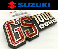 Genuine Suzuki Frame Cover Emblem GS 1000 C/EC/EN/N 1978-1979