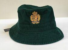 Ralph Lauren Polo Military Camo Skull /& Crossbones Boonie Bucket Hat S//M New