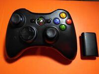 Microsoft Xbox 360 Wireless Remote Controller Black - Official Microsoft OEM