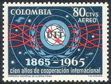 Colombia 1965 ITU-UIT/Space/Radio/Telecomms/Communications 1v (n27379)