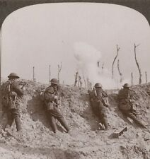 In The Firing Line At Passchendaele We Repulse Repeated Hun Attack - Stereoview