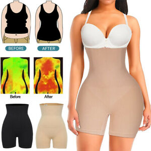 Fajas Colombianas High Waist Shapewear Tummy Body Shaper Shorts Girdle Pants UK