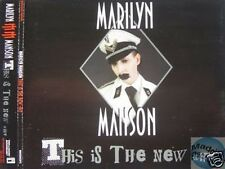 MARILYN MANSON THIS IS THE NEW *HIT PROMO CD #1