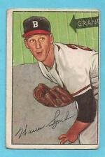 WARREN SPAHN 1952 Bowman #156 Braves HOF'er