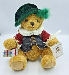 shakespeare Teddy Bear The Great British Teddy Bear Company