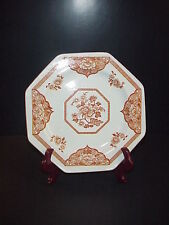 J & G Meakin Brown Old Pekin Royal Staffordshire Dinner Plate