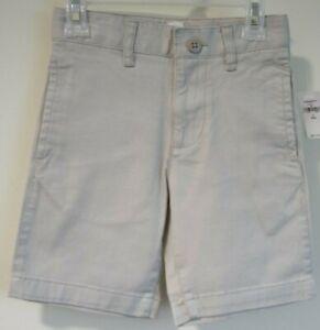 Brand New Gap Kids Khaki Flat Front Shorts Boy's Size 7