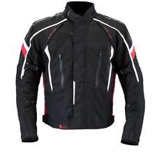 Germot SuperSport Blouson Jack Schwarz Weiß Rot Motorrad Jacke mit Protektoren