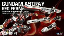 Btf King Sword & Cannon 1/144 Model Kit Parts For Red Frame Astray Gundam New