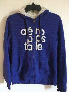 /Teen Boy`s Warm Sweatshirts Hoodies Full Zip XL Logo Aeropostale