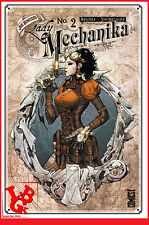 LADY MECHANIKA 2 02 Oct 2016 TPB Hardcover Joe BENITEZ Glenat Comics# NEUF #