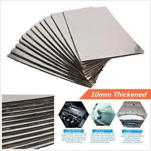 12X 50*30cm 10mm Car Hood Sound Mat Proofing Deadener Heat Noise Insulation Foam