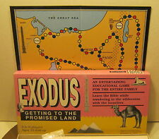 1989 EX RARE Exodus Getting To The Promised Land Game BIBLICAL ARCHAEOLOGY SOC.